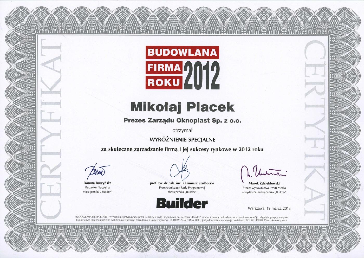 Årets byggefirma