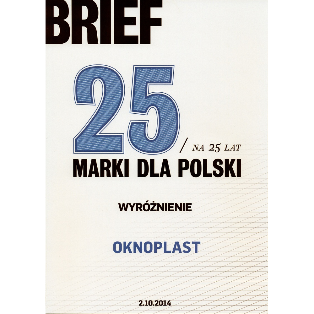 Oknoplast - merke for Polen