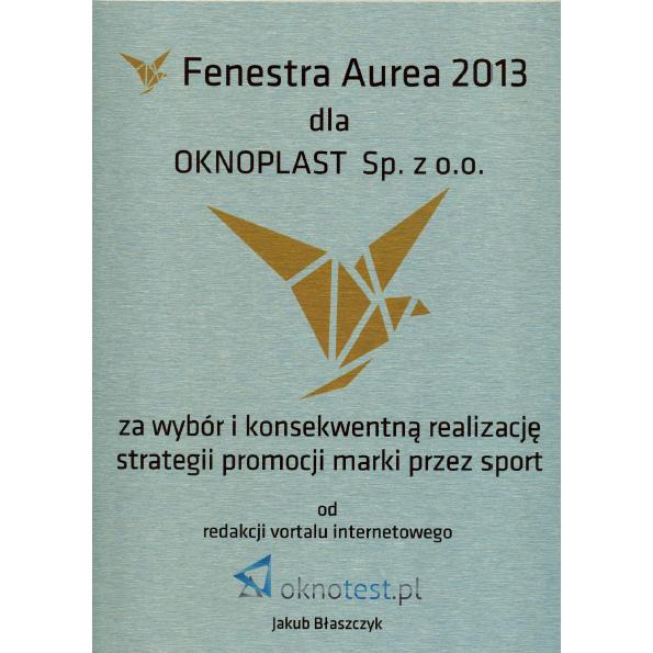 Fenestra Aurea 2013