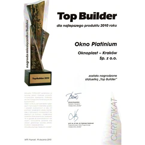 TOP BUILDER 2010