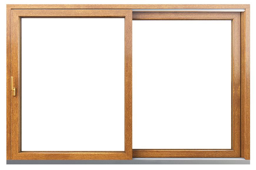 Okno HST Premium zloty dab