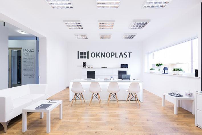 Rebranding salonów OKNOPLAST